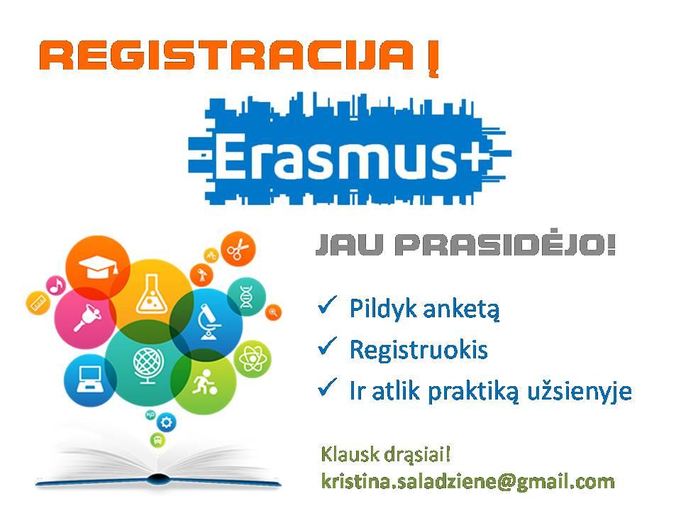 Erasmus atranka