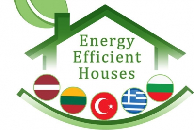 "Logotipų konkursas ""Energy efficient houses"""